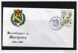 FDC  - 2766 - Nature De France (Bicentenaire De Margency) - 1990-1999
