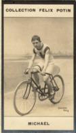 Jimmy (James) Michael Né à Aberaman -  Champion Du Monde - Cycliste Anglais - Collection Photo Felix POTIN 1900 - Félix Potin