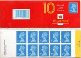 Gran Bretaña Carnet 1993 ** MNH 10 Second Class - Carnets