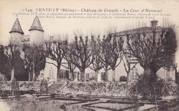 LENTILLY - Château De Cruzols - La Cour D'Honneur - Autres Communes