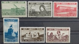 TURQUIE TURKEY N° 957 à 962 COTE 3,90 € 1941 NEUFS ** MNH 10ème FOIRE INTERNATIONALE D'IZMIR - 1921-... Republik