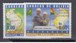 BOLIVIE       1999         N °    1009 / 1010         COTE      9 € 00          ( Q 189 ) - Bolivia