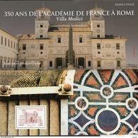 France - Feuillet Bloc Souvenir N° 131 **  Académie De France à Rome (Italie) - Souvenir Blocks
