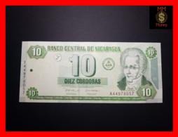 NICARAGUA 10 Cordobas  2002  P. 191  UNC - Nicaragua