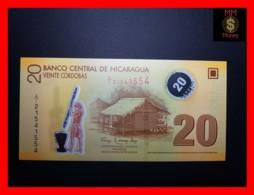 NICARAGUA 20 Cordobas 2012  P. 202 B Polymer  UNC - Nicaragua