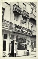 BLANKENBERGE :  La Bonne Auberge, Bakkerstraat 33 -- Privé-kaart -- Reclame WIELS - Blankenberge