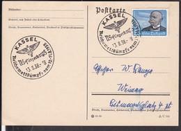 "Sonderstempel Kassel "" Reichswettkämpfe NS- Fliegerkorps "" 1938 - Germany"