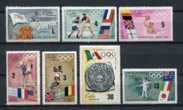 Cuba 1968. Yvert 1248-54 ** MNH. - Ungebraucht