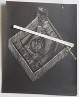 1915 1918 Chasseurs à Pieds 15 Eme Bataillon Fanion Décoré Croix De Guerre BCP Tranchée Poilu WW1 14 18  Cart Phot - War, Military