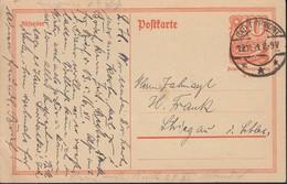 INFLA:  DR P 141 I/004 Ferngebühr, Mit Stempel: Bad Pyrmont 19.11.1921, Postreiter - Infla