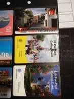 BERMUDA  38 CARDS FINE USED     PREPAID CARD   **1904** - Bermudes