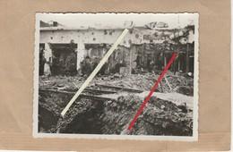 Dept 76 : ( Seine Maritime ) Le Havre, Guerre 39/45, Bombardements, Garage Renault. - 1939-45