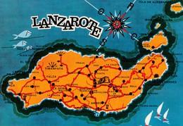 Espagne, Islas Canarias, Lanzarote, La Isla De Los Volcanes - Lanzarote