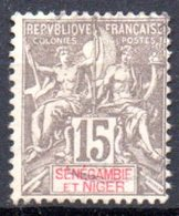 Sénégambie Et Niger: Yvert N° 6° - Used Stamps