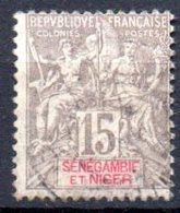 Sénégambie Et Niger : Yvert N° 6° - Used Stamps