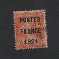 Faux Préoblitéré N° 35 30 C Semeuse Poste France 1921 - 1893-1947