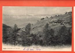 ZAE-14 Chandolin  Anniviers Cachet Saint-Luc 1905 - VS Wallis