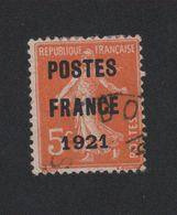 Faux Préoblitéré N° 33 5 C Semeuse Poste France 1921 - 1893-1947