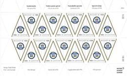 2004 Sondermarke 100 Jahre FIFA . ** Zu: 1110. Mi: 1864 - Blocs & Feuillets