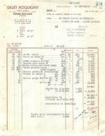 MAISON GILLET ROQUIGNY  VRIGNE AUX BOIS ARDENNES 1959 - 1950 - ...