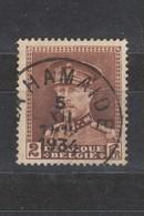 COB 321 Oblitération Centrale LA HAMAIDE - 1931-1934 Mütze (Képi)