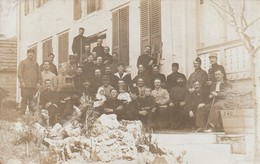 Beatenberg - Hotel Amisbuhl - Internés Français 1916 - Carte Photo - BE Berne