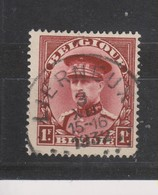 COB 317 Oblitération Centrale LIERNEUX - 1931-1934 Mütze (Képi)