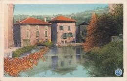 46 Figeac L' Estang Des Trois Moulins De L' Ancien Monastere - Figeac