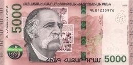 ARMENIA P. NEW  5000 D 2018 UNC - Armenia