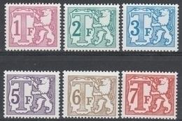 Taxe  Tx 66/71 Polyvalent Papier ** - Timbres