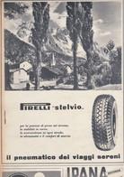 (pagine-pages)PUBBLICITA' PIRELLI   Oggi1952/26. - Other