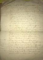 Acte De 1667 Succession De René Sapin Seigneur De Benehart à Chahaignes (72) Et Jean Rottier De Beaumont La Chartre - Manuskripte