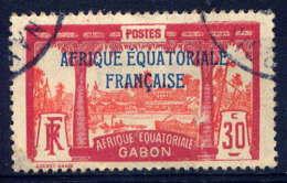 GABON  - 97° - VUE DE LIBREVILLE - Gabon (1886-1936)