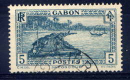 GABON  - 128° - SUR LE FLEUVE OGOOUE - Gabon (1886-1936)