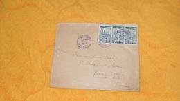 ENVELOPPE ANCIENNE DE 1947../ CACHETS BOUDENIB MAROC POUR PARIS Ve + TIMBRES X3 CACH. SERV. DES AFFAIRES INDIGENES... - Marocco (1891-1956)