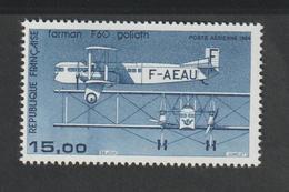 Poste Aérienne - 1984     - 57 -       Avion  Bimoteur Farman  F 60 Goliath    -   Neuf   - - 1927-1959 Mint/hinged