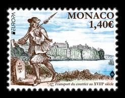 Monaco 2020 Mih. 3490 Europa. Ancient Postal Routes MNH ** - Monaco