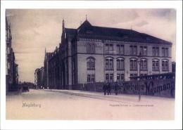 Sammelkarte Magdeburg Austa-Schule Listemannstrasse 1910/2000 REPRO - Ohne Zuordnung