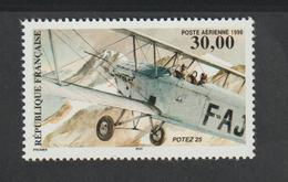 Poste Aérienne - 1998     - 62 -     Biplan  Potez 25    -   Neuf   - - 1927-1959 Mint/hinged
