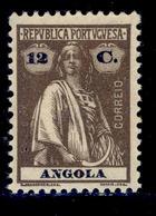 ! ! Angola - 1921 Ceres 12 C - Af. 205 - MH - Angola