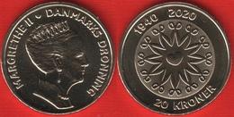 "Denmark 20 Kroner 2020 ""80th Birthday Of HM Queen Margrethe II"" UNC - Denmark"