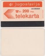 318/ Yugoslavia; Autelca, 200 Imp. - Jugoslawien
