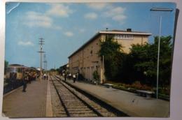 Rossano (Cosenza) - Stazione FF. SS. - Treno, Train, Rail Station - Italy