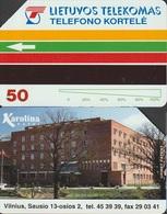 322/ Lithuania; P2. Karolina - Litouwen