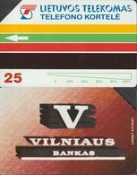 326/ Lithuania; P4. Vilnius Bankas - Litouwen