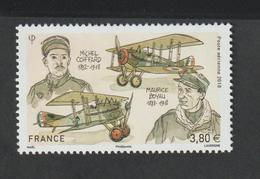 Poste Aérienne - 2018    - 82  -  Personnalité - Maurice Boyau Et Michel Coiffard  , Aviateurs  - Neuf - 1927-1959 Mint/hinged