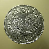 Brazil 2000 Reis 1922 Silver - Brasil