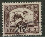 INDOCHINE       N°  YVERT   :    162     OBLITERE       ( O B   7 / 34 ) - Indochine (1889-1945)