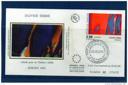 FDC - 2797 - Olivier Debré - 1990-1999