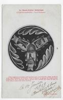 (RECTO / VERSO) LUXEUIL LES BAINS EN 1919 - LES 3 POISSONS - CPA VOYAGEE - Luxeuil Les Bains